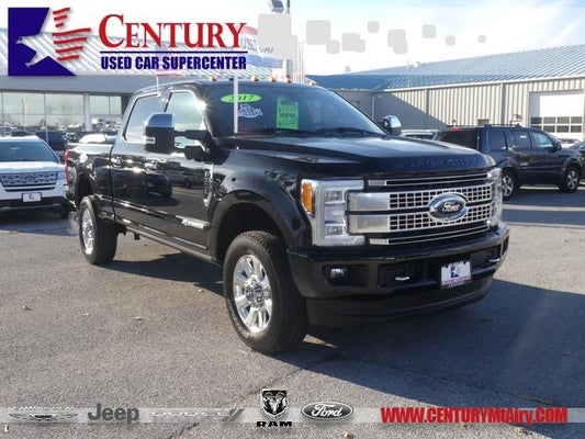 2017 Ford Super Duty F 350 Srw Platinum In Mt Airy Md Century