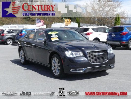 2018 Chrysler 300 Limited In Mt Airy Md Century Dodge Jeep Ram